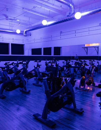 REV Indoor Cycling Studio bikes