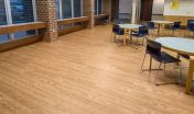 Medical Facility Vinyl Plank Cafeteria