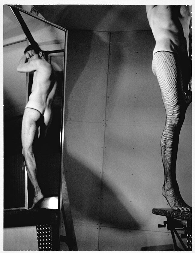 "Analogue Photo by Alessandro Tomassetti. ""Fishnets 4"" [Analogue Photography, Mamiya Universal Press, Mamiya Sekor 100mm f3.5 lens, expired Fuji FP-3000b film]"