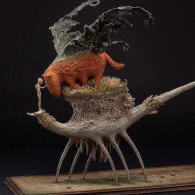 Beautiful Bizarre Art Prize 2019 Sculpture Award Winner Akishi Ueda