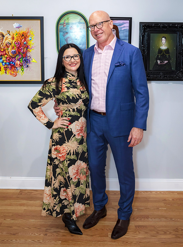 Danijela Krha Purssey & Richard Purssey - Co-Founders of Beautiful Bizarre art Magazine