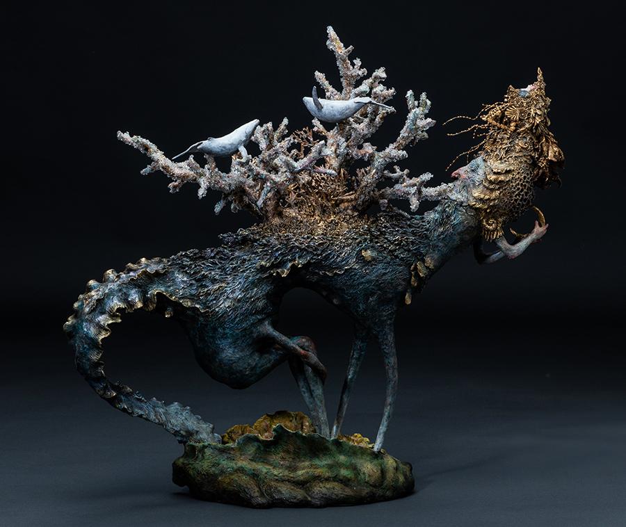 akishi ueda surreal sculpture beautiful bizarre magazine art prize