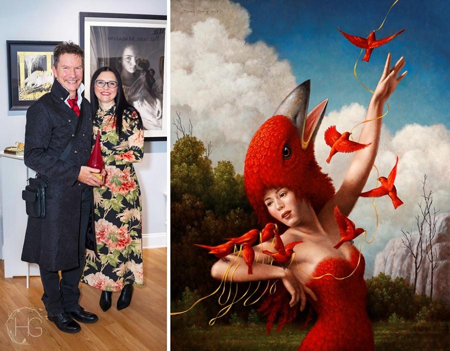 Beautiful Bizarre Art Prize, INPRNT Traditional Award Winner Steven Kenny