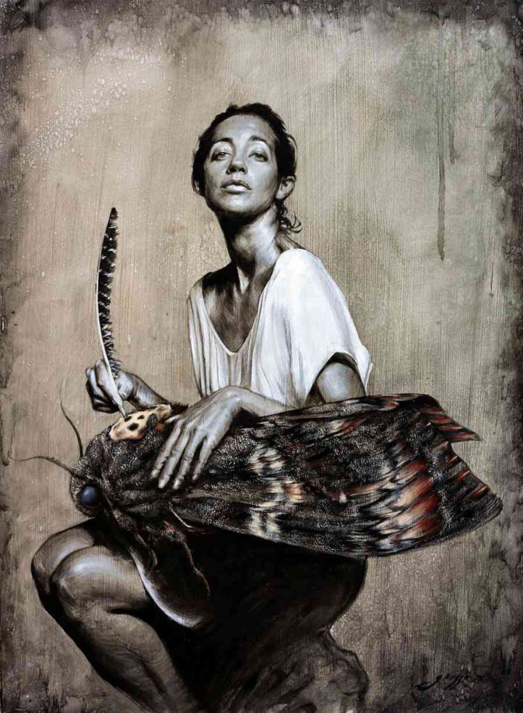 Victor Grasso - The Scribe - INPRNT Traditional Art Prize 2019