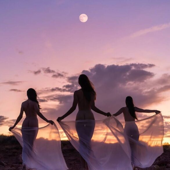 benjamin sumner franke - soulcraft - moon coven -nude photography