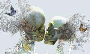 3949_Ross Jaylo-painting-skulls-love-butterfly-900