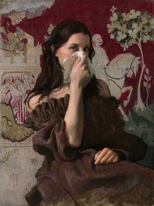 4249_Jose-Lopez-Vergara-painting-woman-mask-900