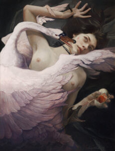 5847_Gail Potocki-painting-woman-goose-900
