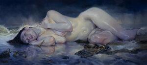 6091_Kai Carpenter-painting-woman-ocean-900