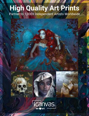 iCanvas - Beautiful Bizarre Art Prize - 2021