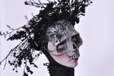 Jessica-Dalva-dark-skull-mask-sculptures