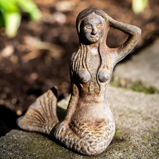 #abbottcollection #abbottgiftware #mermaid #wabisabi #iron #garden