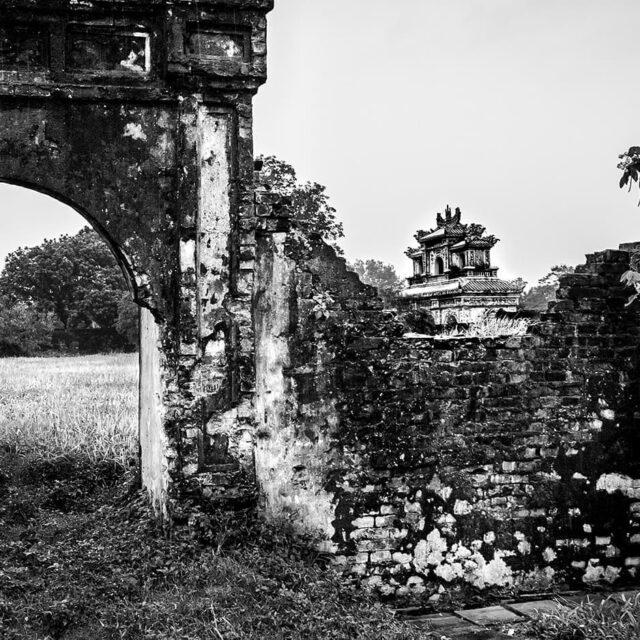 Hue, Vietnam #hue #temple #unescoworldheritage #vietnam #blackandwhite #travelphotography