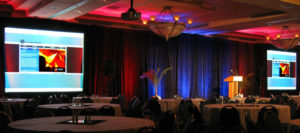 Lecturn Microphone Wireless Trade Show Northwest Florida A/V