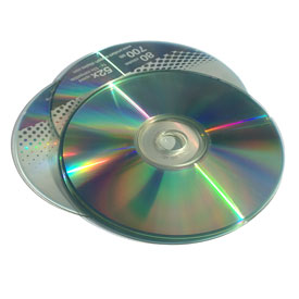 CDs/DVDs/VHS Tapes