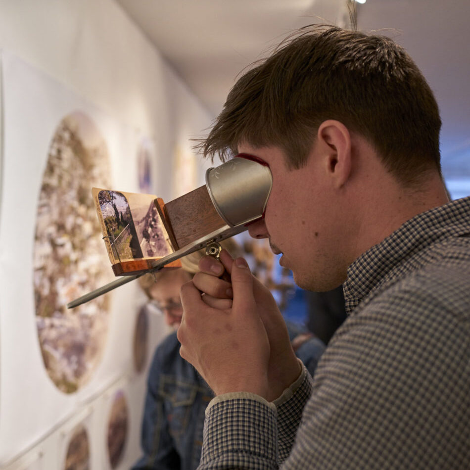 Resident Alien Exhibit, Photo credit: Alon Koppel c/o Green County Council on the Arts