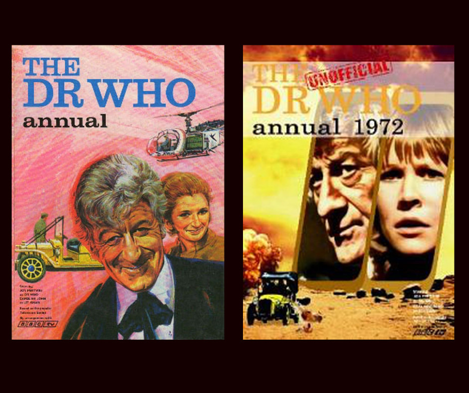 Thumbnail for Episode 7 – The Unofficial 1972 Dr. Who Annual, The 1971 Annual, and Paul Darrow