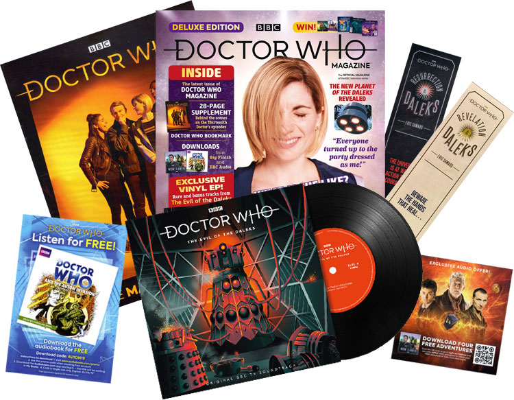 Thumbnail for Episode 9 – The Doctor Who Magazine Deluxe Edition (#539 July 2019)