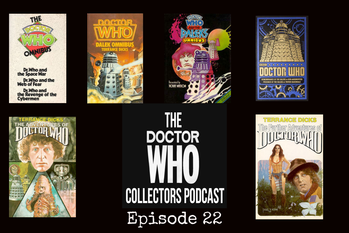 Thumbnail for Episode 22 – Dr. Who Story Collections – multiple Dr. Who stories in one book!