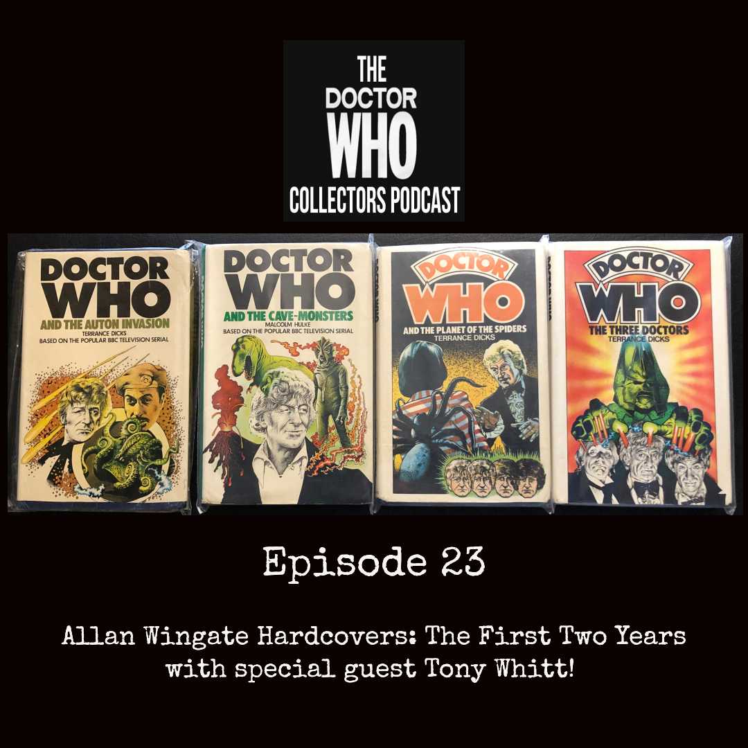 Thumbnail for Episode 23: Allan Wingate Hardcovers: The First Two Years with special guest Tony Whitt!
