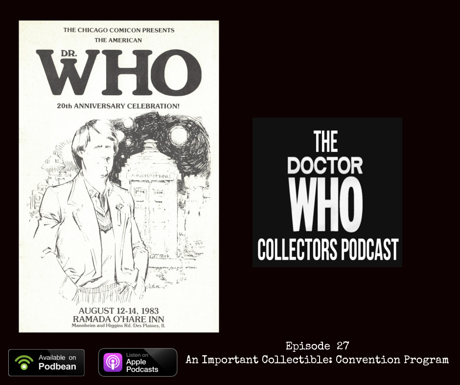 Thumbnail for Episode 27: An Important Collectible: Convention Program