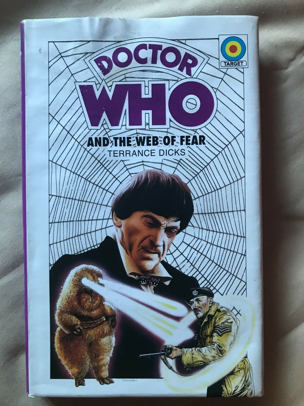 Doctor Who and the Web of Fear prototype Target Hardcover