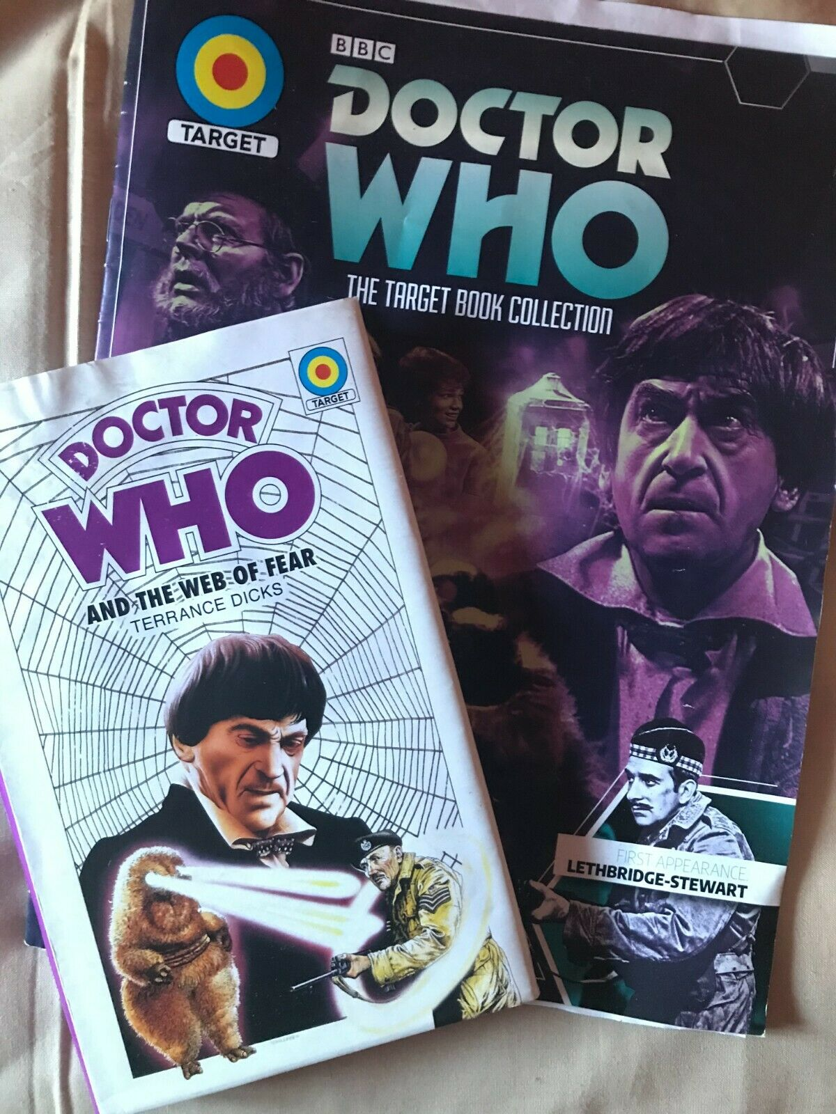 Doctor Who and the Web of Fear Target Book Collection prototype