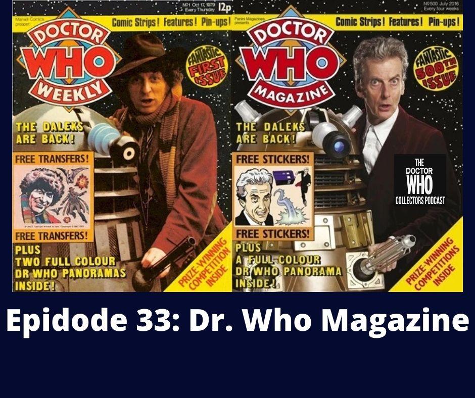 Thumbnail for Episode 33: Dr. Who Magazine