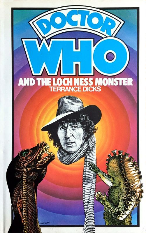 Doctor Who and the Loch Ness Monster - with blue spine published in January 1976,  2nd edition in August 1976. 3rd edition in January 1977 with white spines