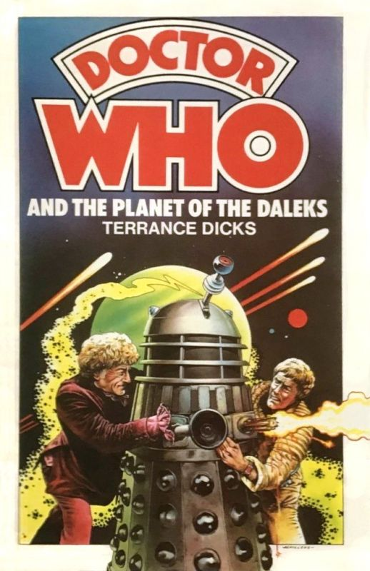Doctor Who and the Planet of the Daleks published in September 1976.