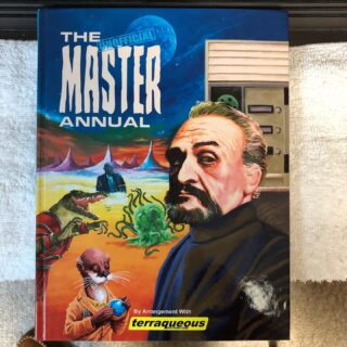 "The ""Unofficial"" Master Annual. By Terraqueous Distributors. A really nice annual that copies the likeness of the first annual (see photos). Released in April 2020. A nice add to any collection.  Still available as of this posting. #themasterdoctorwho #doctorwhoannuals #terraqueousdistributors #doctorwhocollectors"