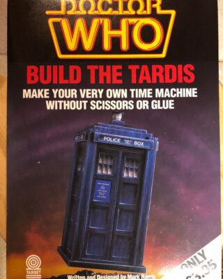 An unusual Target Book!  I will be talking about this and other non-story Target Books on the next Doctor Who Collectors Podcast!  #doctorwho #doctorwhotargetbooks