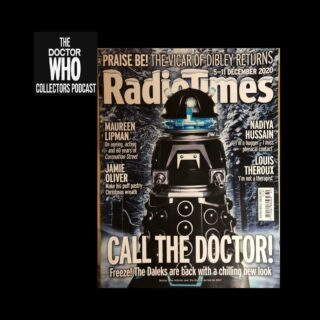 Not many Dr. Who covers for the Radio Times, but this is the latest from Dec. 2020. Features the new Dalek design. You can often get these direct from Radio Times for new issues. Look to auction sites for old issues. This is my third Dr. Who RT. I have January 1970 and November 1983. #radiotimes #doctorwho #daleks #jodiewhittaker