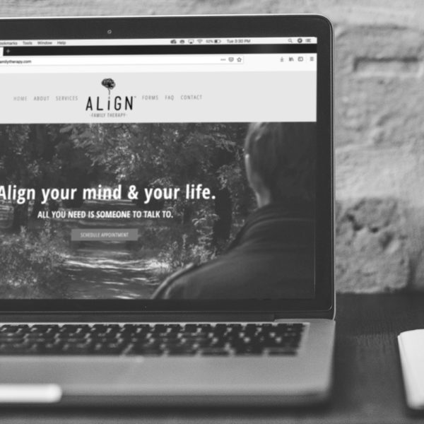 Align Family Therapy Website - Doug Buseman Designs