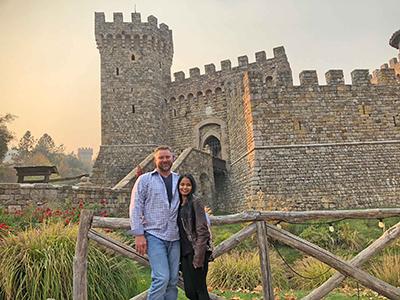Paula and Dan in Napa Valley
