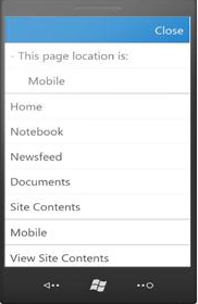 SharePoint 2013 Mobile x2