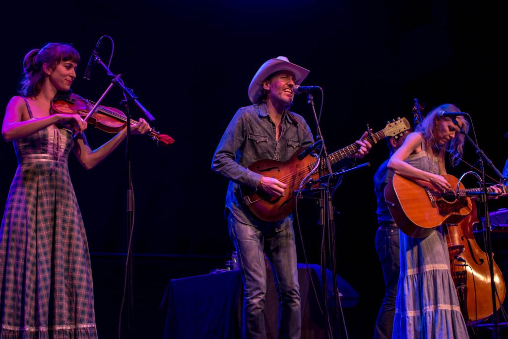 Brittany Haas, David Rawlings, Gillian Welch // photo by Chris Kubak
