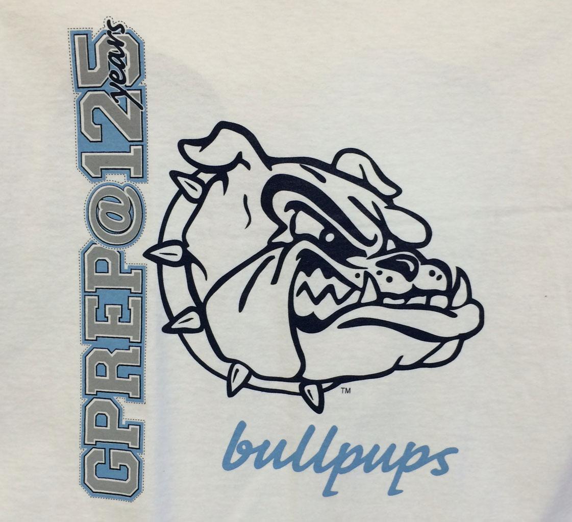 Screen Printing | G-PREP Bullpups T-Shirts