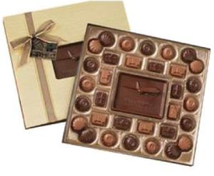 Customized Chocolate Box   Holiday Gift Ideas