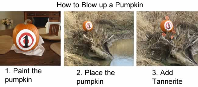 exploding pumpkin