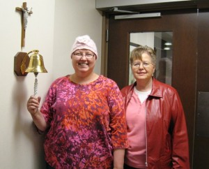 ringing the bell at chemo