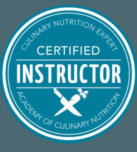 Certified instructor badge