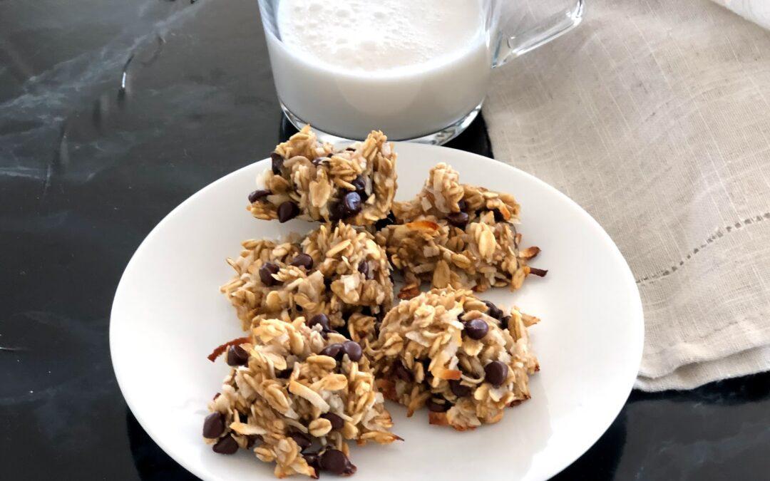 Super Simple Banana Cookies