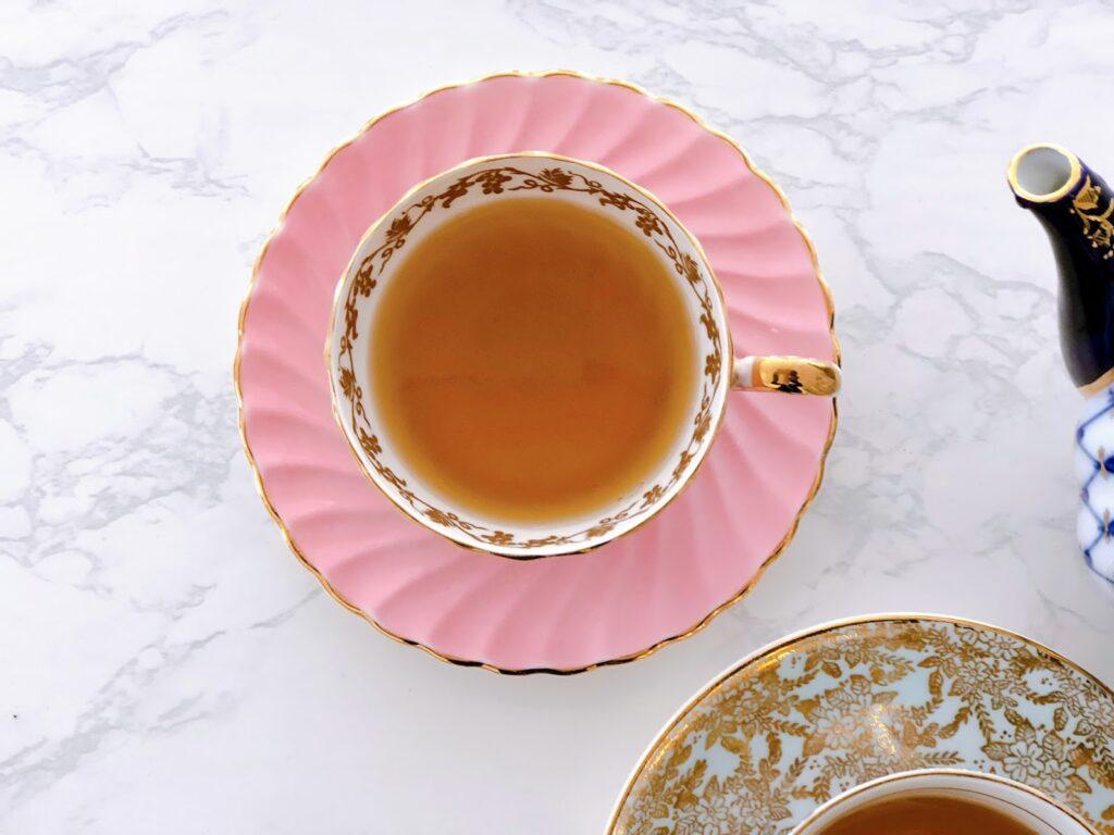 A cup of calming tea