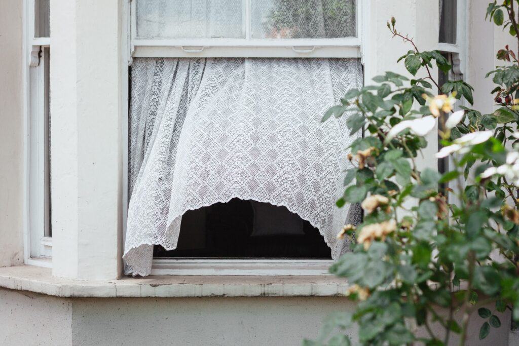 Open windows whenever possible to circulate clean air into the home.