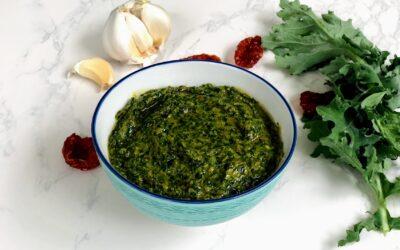 Kale and Sun-Dried Tomato Pesto