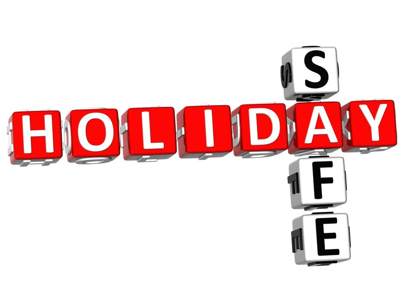 9752235 - 3d holiday safe crossword on white background