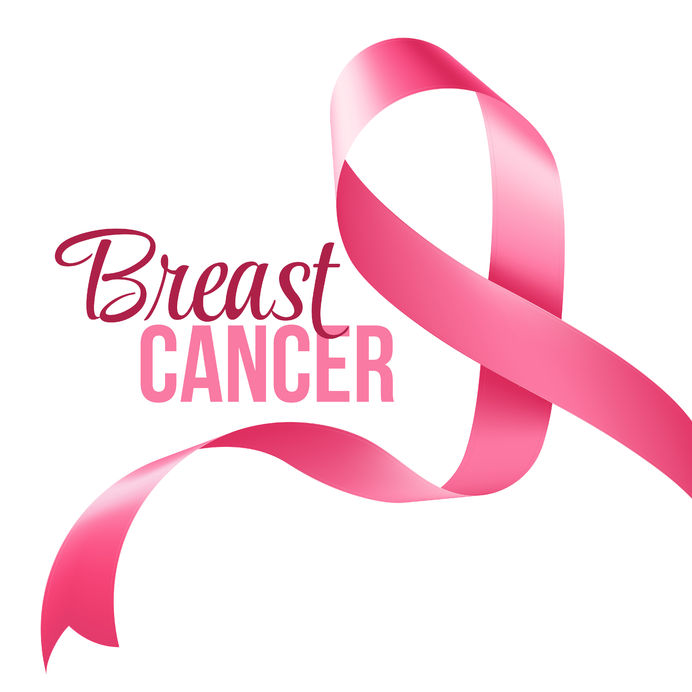 45592072 - breast cancer awareness ribbon background. vector illustration