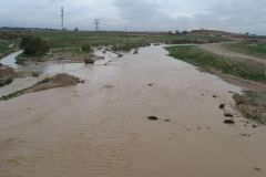 Beer Sheva Stream Flowing