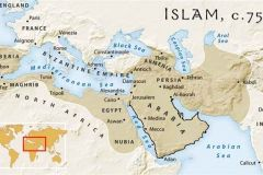 8-Islamic-Empire-at-its-height-750AD